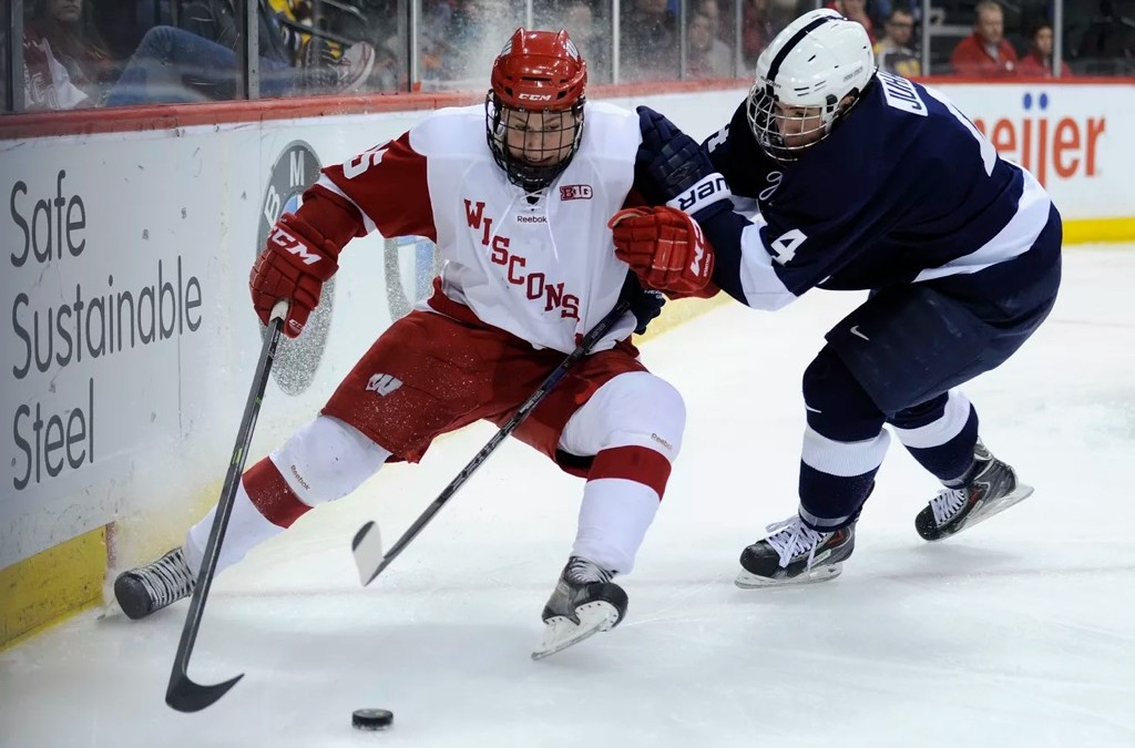 Badger Hockey Is Heating Up