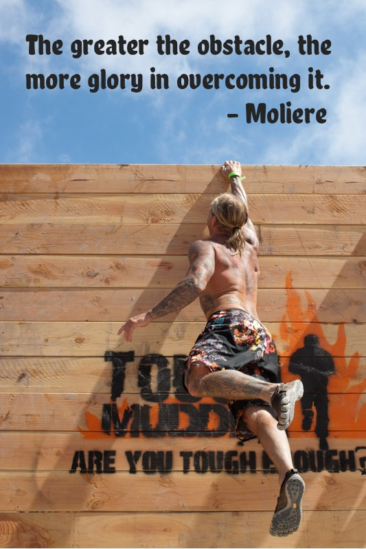 Tough Mudder Motivational Quote