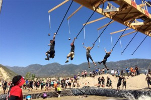 photo of Tough Mudders Attacking Ring the Bell