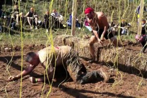 photo of Mudders going through Electro Shock Therapy