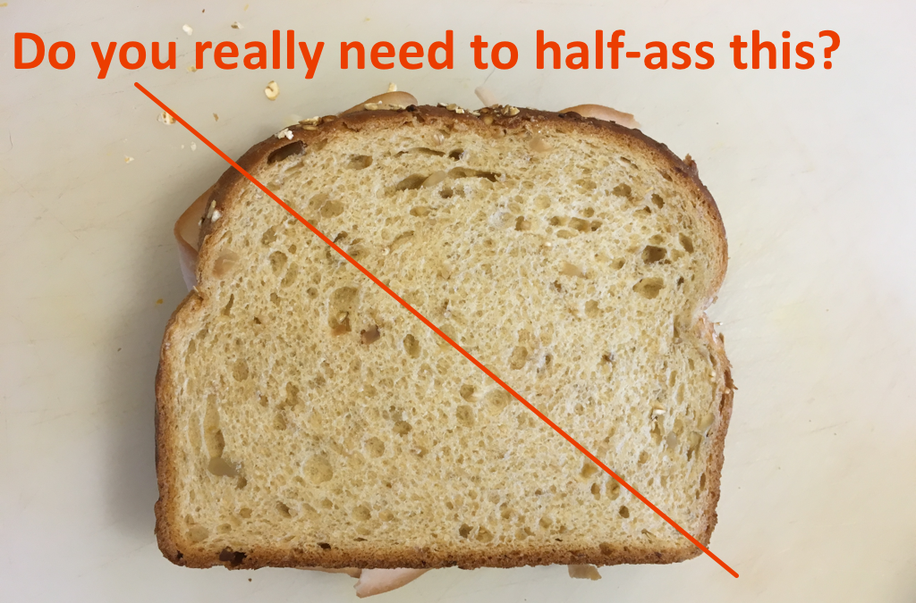 DGTFB: Cut My Sandwich Correctly