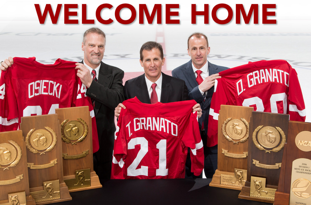 "Badger Hockey Welcomes the ""Dream Team"""