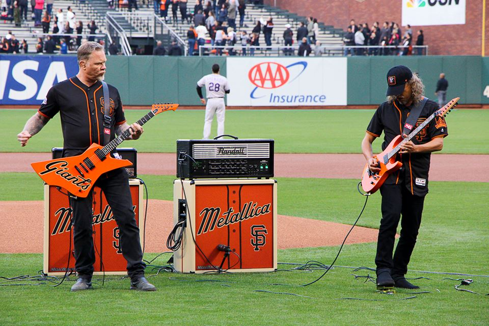 S.F. Giants and Metallica Night
