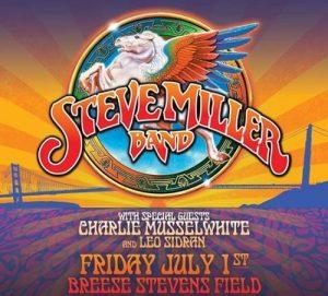 Steve Miller Band promo poster