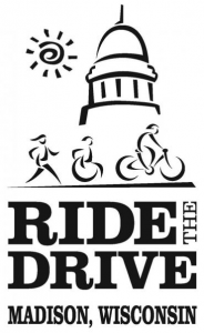 Ride the Drive logo